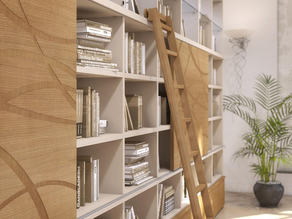 Biblioth que sur mesure nice fabricant de biblioth ques bmc placards - Dividere una camera in due ...